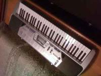 Selling a hardly used Casio keyboard and stand. The