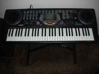 CASIO CTK-533 Midi Keyboard, Plus Stand, Plus AC