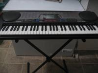"Casio keyboard model CTK-588 in ""like new"" condition."