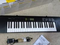 Casio Electronic Keyboard Model CTK-240. ~LIKE NEW!!~