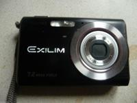 Casio Exilim EX-Z70 7.2MP Digital Camera with 3x Anti