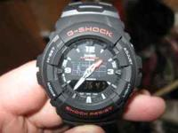 This is a like-new Casio G-shock watch. It retails for