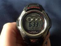 I have a men's watch for sale. It's a Casio G-Shock.