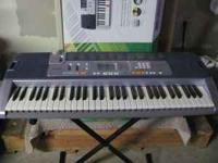 Like New Casio Key Lighting Keyboard LK-110 - Stand &