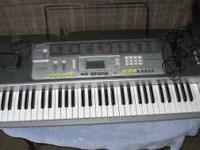 Casio LK200S Keyboard with microphone Key Lighting