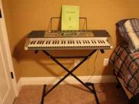 Casio keyboard for sale: this keyboard was purcased