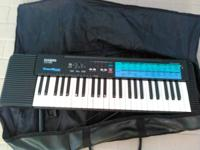 I have a keyboard, case, and keyboard stand for sale.