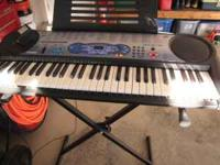 I am selling a Casio Keyboard that will play and teach
