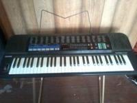 Casio Tonebank CT 670-w/stand, full size keyboard ,