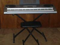Casio model LK-73 Keyboard MAIN FEATURES: 137 tones 100