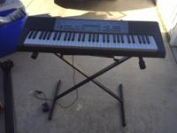 Casio electronic keyboard Excellent condition Cash only