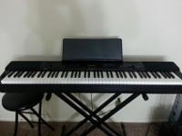 This is a used Casio Privia PX-350M Digital Piano (NO