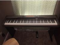 I have a very nice electric piano with 88 full size