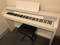 Hello! I'm selling my Casio digital piano PX-850! I'm