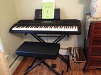 Keyboard is in exceptional pre-owned condition. It