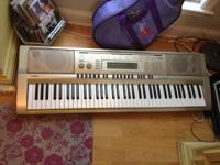 I'm selling a Casio WK200 electric keyboard. It comes