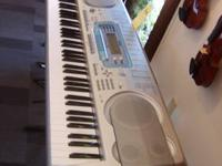 For sale a Casio WK3000 keyboard. Stand is sold
