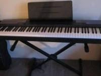 Casio CDP-100 88 key Digital Piano & stand for sale.