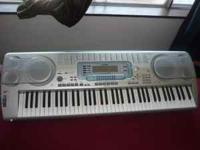 I HAVE CASIO WK3000 ELECTRIC PIANO OR ORGAN FOR SALE,