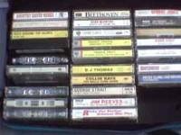 I have several country music casset tapes and a
