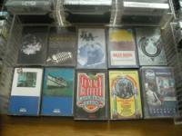 122 Cassettes. The majority of are traditional music