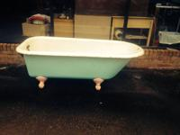PRICE REDUCED!!!Cast Iron Claw Foot Bathtub Must Sell!