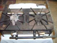 I have a Cast Iron Double Burner Natural Gas/LP Stove