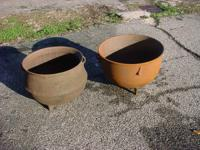 SEE THESE CAST IRON WASH POTS AND MUCH MORE AT THE
