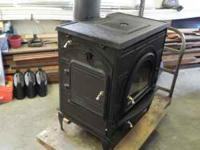 Dutch West Catalytic Convection Woodburner Model 2462.