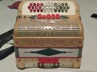 For sale a Castiglione Accordion 5 Switch in FA.
