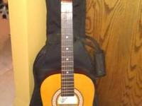 Like-new Castillo acoustic guitar, smaller guitar youth