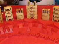 I have the following for sale:  Castle Building Blocks