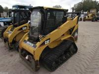 CAT 257B Skid Steer Multi-Terrain Loader Hours: 2600