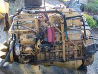 CAT 3116 ENGINE FROM FAN TO FLYWHEEL,TO INCLUDE