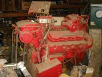 CAT 3208 diesel engine, as shown. Only 72 hours on