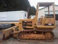 Cat d-3b, 6 way blade, 27y**** vin#, has hole the