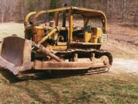 CAT D7 Dozer with new motor and new cutting edges; less