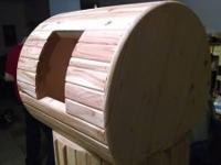 These Cat House Barrels are hand made right here in the