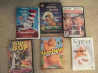 6 Children's CD's in great condition *The Cat in the