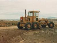 Cat Motor Grader with all parts books. This was a
