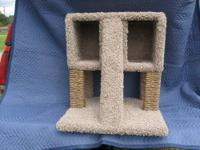 Cat Perch and Play Area: Model#1303. This cat perch and