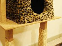 For Sale is a custom cat tree house/condo that your pet