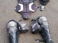 Full catchers set up. ProTeam brand  Mask Chest pad