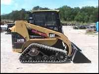 2006 Caterpillar 247B Skid Steer Loader Hours 1335