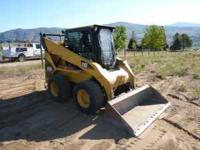 2007 CAT 252 B Skid steer loader with 1900 hrs. Machine