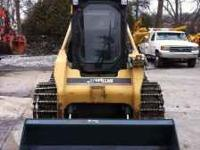 2006 caterpillar 268B skid steer loader, high flow xps