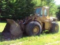 For sale is my Cat 980B wheel loader. Good older