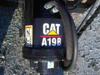"Caterpillar A19B auger with a 9"" bit  John Location:"