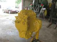Up for sale is a 105 horse Caterpillar/Perkins engine