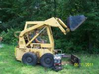 72 Caterpillar Skidsteer, Runs and Works Good. Needs